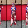 Mermaid Parade Collage 2011 Coney Island by Mark Gilman
