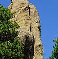Mica Rock In The Black Hills by Jeff Swan