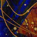 Mickey's Triptych - Cosmos I by Angela L Walker