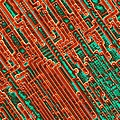 Microchip Circuitry, Sem by Power And Syred