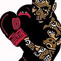 Mike Tyson Full Color by Kamoni Khem
