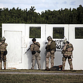 Military Reserve Members Prepare by Michael Wood