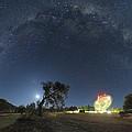 Milky Way Over Parkes Observatory by Alex Cherney, Terrastro.com