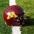 Minnesota Football Helmet by Bill Krogmeier