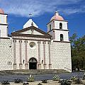 Mission Santa Barbara by Michele Burgess
