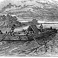 Mississippi: Flatboat by Granger