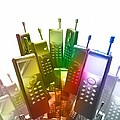 Mobile Phones by Victor Habbick Visions