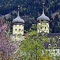 Monastery In Tyrol by Elzbieta Fazel
