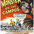 Monster On The Campus, Arthur Franz by Everett