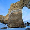 Monument Rocks Arch by Adam Jewell