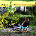 Morning By The Pond by Bill Cannon