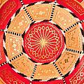 Moroccan Cushion by Tom Gowanlock