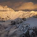 Mount Rolleston At Dawn Arthurs Pass Np by Colin Monteath