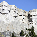Mount Rushmore National Memorial, South by Richard Roscoe