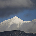 Mt Humphreys Covered In Snow by John Burcham