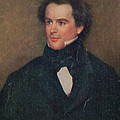 Nathaniel Hawthorne, American Author by Photo Researchers
