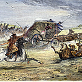 Native American Attack On Coach by Granger