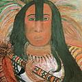 Native American Chief by Anne-Elizabeth Whiteway