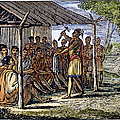Native American Council, C1835 by Granger
