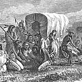 Native Americans: Gambling, 1870 by Granger