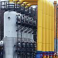 Natural Gas Compressor Station by Ria Novosti