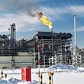 Natural Gas Liquefaction Plant by Ria Novosti