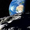Near-earth Asteroid, Artwork by Detlev Van Ravenswaay