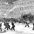 New York: Snowstorm, 1867 by Granger