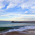 Newport Beach Pier by Paul Velgos