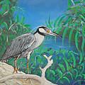 Night Heron by Edward Walsh