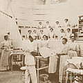 Nurses Observing An Operation, 1899 by Science Source