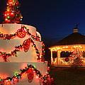 Oakham Massachusetts 250th Anniversary Holiday Lights by John Burk