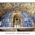 Obidos Ancient Art Portugal by John Shiron