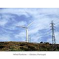 Obidos Wind Turbine II Portugal by John Shiron
