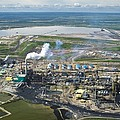 Oil Processing Plant, Athabasca Oil Sands by David Nunuk