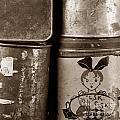 Old Fashioned Iron Boxes. by Bernard Jaubert
