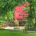 Old Indian Mill by Pamela Baker