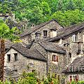 Old Rustic Village by Mats Silvan
