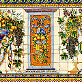 Old Spanish Tiles by David Lee Thompson