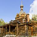 Old Wooden Russian Orthodox Church  by Aleksandr Volkov