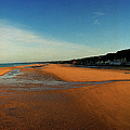 Omaha Beach At Dog One by Jan W Faul