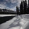 Open Water In Winter by Mark Duffy