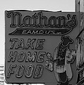 Original Nathan's In Black And White by Rob Hans