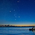 Orion Over Vancouver, Canada by David Nunuk