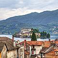 Orta - Overlooking The Island Of San Giulio by Joana Kruse