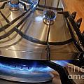Pan On Gas Hob by Sami Sarkis