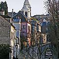 Parisian Street Scene by David Pringle