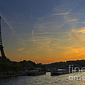 Parisian Sunset. by Louise Heusinkveld