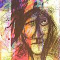 Pastel Man 12 by Bill Davis