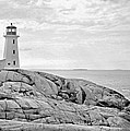 Peggy's Point Lighthouse by Kristin Elmquist